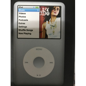 Ipod Classic 160 Gb Em Estado De Zero, Cor: Prata, Novo D+