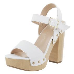 Sandalia Block Heels Zapato Tacon Casual Dorothy Gaynor