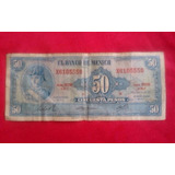 Billete Antiguo 50 Pesos Ignacio Allende 1972