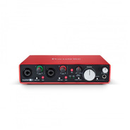 Interface Scarlett 2i4 2a Ger Usb - Focusrite +nf+garantia