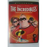 Dvd Os Incríveis - Disney Pixar (só Em Inglês) Importado