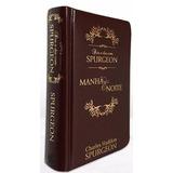 Livro Dia A Dia Com Spurgeon - Capa Couro Luxo