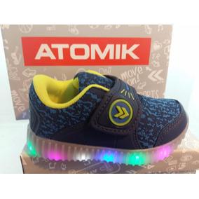 Zapatillas Atomik Con Leds Para Varón