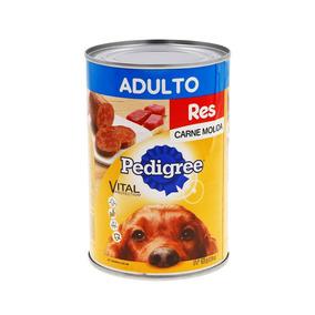 Pedigree Con Carne Molida De Res Alimento Perro Adulto 625gr