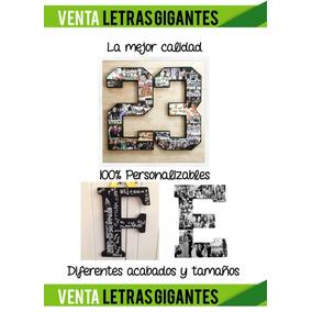 Letras Decorativas Cualquier Tamaño Diseños Personalizados