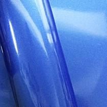 Adesivo Envelopameto Azul Brilhante Ultra Blue Metallic 1,22