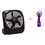 Kit Ventilador Portátil O2 Cool+ventilador C/ Borrifador O2