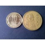 Moneda Mexico Cien Pesos Bronce 1984 (c32)