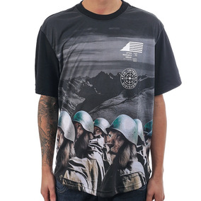 Camiseta Lrg Lion Army Scoop Knit