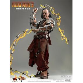 Hot Toys Whiplash Marvel Iron Man 2 Tony Stark Homem Ferro
