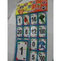Gcg Juego Didactico Loteria Numeros Colores Ingles Español