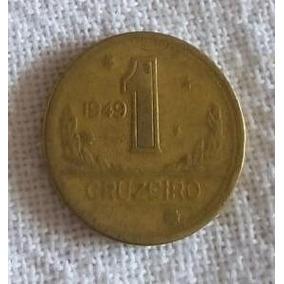 Moeda De 1 Cruzeiro De 1949 Mapa