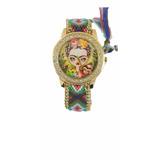 Reloj Tejido De Moda Frida Kahlo