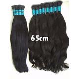 Cabelo Humano Liso Natural Virgem 200gr - 60 65 Cm Mega Hair