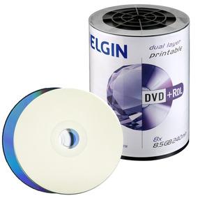 200 Dvd 8,5gb Elgin Printable Umedisc Xbox 360frete Grátis