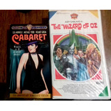 Lote 3 Vhs Infantiles Judy Garland, Jumanji Y Disney
