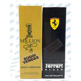 Kit 2 Perfumes Million E Ferrari Black Garanta Já O Seu