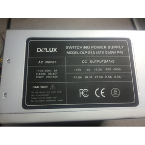 Fuente De Poder Delux 550w Nueva