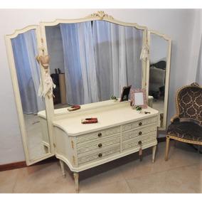 Antiguo Vestidor Dormitorio Francés Luis Xvi. Subasta!!