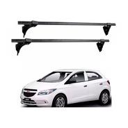 Juego Barras Porta Equipaje Hierro Negro P/ Chevrolet Onix