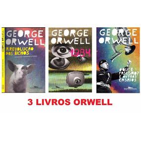 Livros George Orwell - 1984, Revolução Dos Bichos, Fascismo