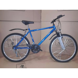 Bicicleta Mtb Rod 26 Varon 18 Vel Con Suspension Delantera