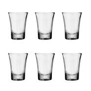 Vaso Shot De Tequila Nadir Set Vasos Chupito De Vidrio Para Postre Tragos Bebidas Set X6 Unidades 60 Ml Fiestas Eventos