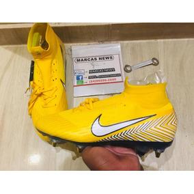 Chuteira Nike Mercurial Trava Mista Neymar Jr Pronta Entrega