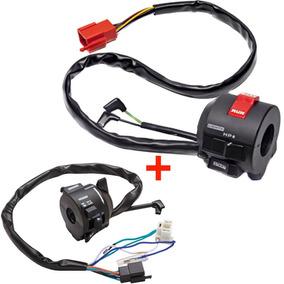 Kit Chave De Luz + Interruptor De Partida Cb450 Dx Magnetron