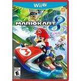 Mario Kart 8 Wii U Original En Caja Solo Wii U Europea