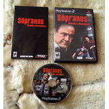 Juego The Sopranos Road To Respect Playstation 2