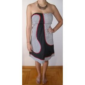 Vestido De Diseño Strapless Muy Original