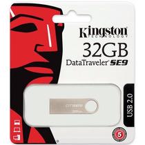 Pen Drive 32gb Kingston 100% Original Embalagem Lacrada
