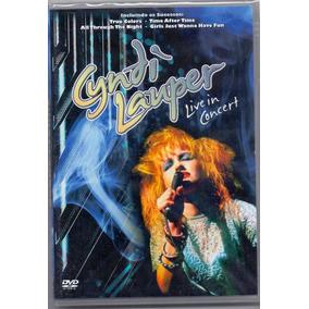 Dvd Cyndi Lauper - Live In Concert - Novo***