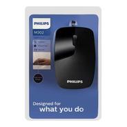 Mouse C/ Fio 1000 Dpi M302 Philips Spk7302b - Nota Fiscal