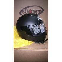 Casco Suomy Booster Negro Mate