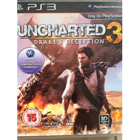 Jogo Ps3 - Uncharted 3 - Seminovo R$40