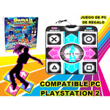 Alfombra De Baile Dance 2 Compatible Pc Playstation 1 - 2