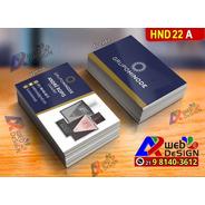 Milheiro Cartão Visita Hinode Impressão Frente E Verso