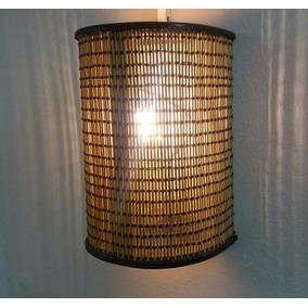 Kit 3 Arandela Luminária De Parede Rustico Sala Artesanal