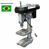 Furadeira Bancada Industrial 16mm 1/2hp Monof Bivolt Motomil