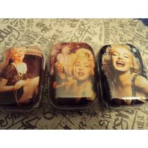 Latita Pastillero Marilyn Monroe ,coca Cola, Casette Retro