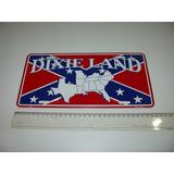 Placa Metal Dixie Land General Lee Confederados Dodge Charge