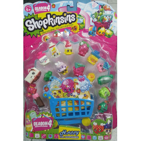 Shopkins 16 Figuras Juguetes De Niñas