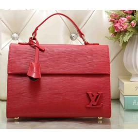 Bolsa Louis Vuitton Roja Original Piel Lv Casual Nueva Dama