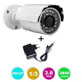 Câmeras Segurança Infra 50mt 2800l Hd Ircut & Blc + Fonte