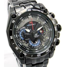 Relógio Casio Edifice Red Bull Ef 550 Black
