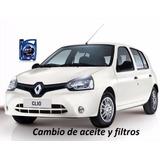 Cambio De Aceite Y Filtros, Renault Clio