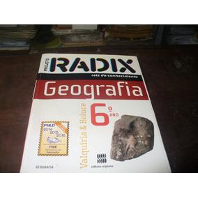 Livro Projeto Radix Geografia 6º Ano