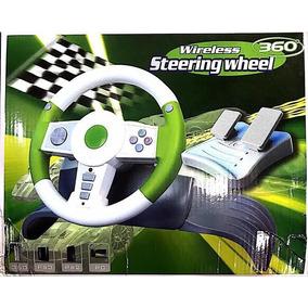 Volante Steering Wheel Para Pc/ps2/ps3/xbox